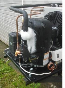 obledenenie kompressora na agregate Tecumseh